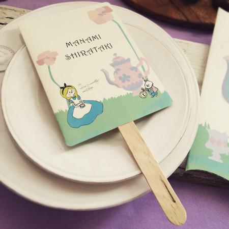Tea Party風ペーパーアイテム★パステルカラーの可愛い世界へようこそ。